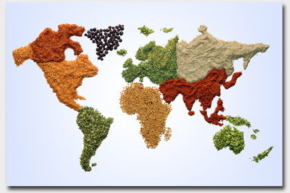 Worlds of spices